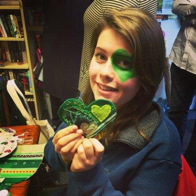 greenhearteyeshowthelove